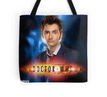 Doctor Who 50th Anniversary - Tenth Doctor Tote Bag