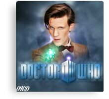 Doctor Who 50th Anniversary - Eleventh Doctor Canvas Print