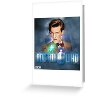 Doctor Who 50th Anniversary - Eleventh Doctor Greeting Card