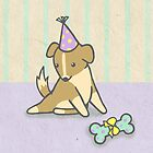 Birthday Pup by Katie Corrigan