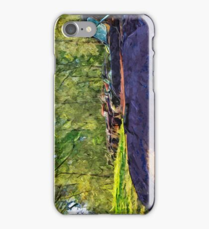Rusty Old Cars and Trucks 4 Abstract Impressionism iPhone Case/Skin