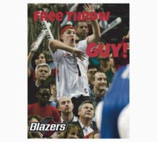 Free Throw Guy by Ewan Martin