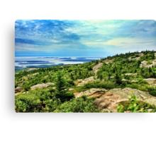 Cadillac Mountain, Acadia National Park, Maine, USA Canvas Print