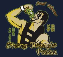 Shang Tsung's Pizza One Piece - Long Sleeve