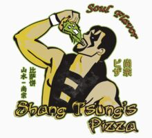 Shang Tsung's Pizza Kids Clothes