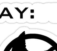 Mockingjay Yeah! Sticker