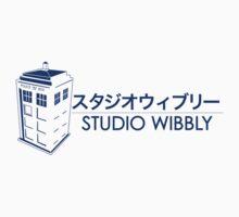 Studio Wibbly: Blue Varient  One Piece - Short Sleeve