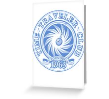 Time Traveler Club - 1963 Greeting Card