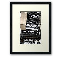 Third Street Bridge Vertical Framed Print