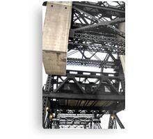 Third Street Bridge Vertical Metal Print