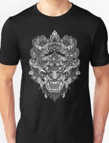 Mask Black & White T-Shirt