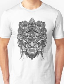 Mask Black & White Unisex T-Shirt