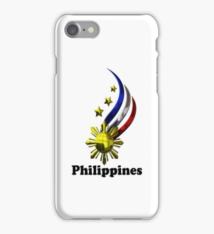 Philippine logo for iphone case iPhone Case/Skin