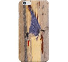 Royal Tern in Winter Colors 2 Abstract Impressionism iPhone Case/Skin