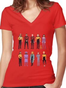 Pixel The Next Generation Women's Fitted V-Neck T-Shirt