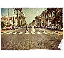 Santa Monica Abbey Road Poster