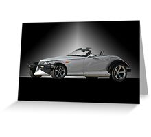 2000 Dodge Prowler Roadster Greeting Card