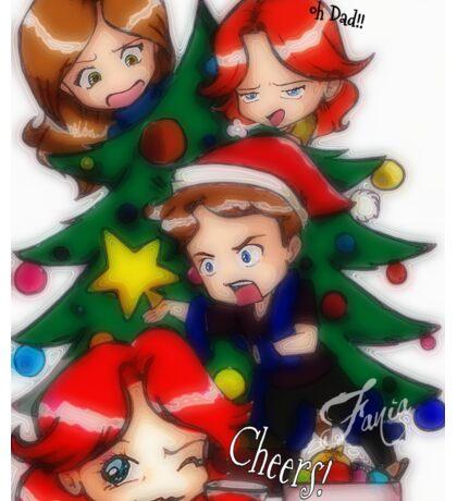 Christmas Time Sticker