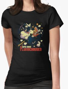 Adventures of Baron Plumbchausen Womens Fitted T-Shirt