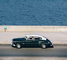 Taxiing along the Malecón by areyarey