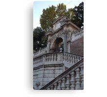 Italian Staircase  Canvas Print