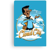 Welcome to Cloud City Canvas Print