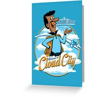 Welcome to Cloud City Greeting Card