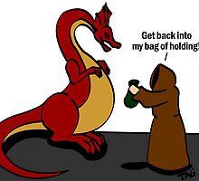 Druid Vs Dragon by Allan Gagnon