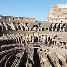 Inside the Colosseum by Lunatasha