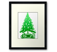 Christmas Tree and Toys Framed Print