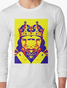 Laurence Olivier, double in Richard III Long Sleeve T-Shirt