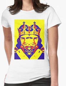 Laurence Olivier, double in Richard III Womens Fitted T-Shirt