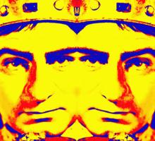 Laurence Olivier, double in Richard III Sticker