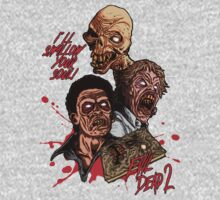 Evil Dead 2: Dead by Dawn - Artwork - I'll Swallow your soul! by Oliver Delander