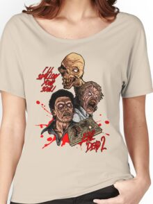 Evil Dead 2: Dead by Dawn - Artwork - I'll Swallow your soul! Women's Relaxed Fit T-Shirt
