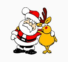Buddies Santa and Rudolf Unisex T-Shirt