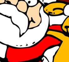 Buddies Santa and Rudolf Sticker
