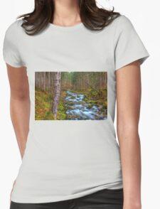 Cascades Womens Fitted T-Shirt