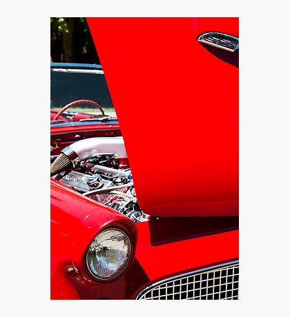 Thunderbird with Open Hood Photographic Print