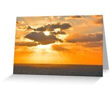 Algarve Sunset Greeting Card