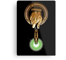Hand of the 11th Time Lord Metal Print