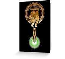 Hand of the 11th Time Lord Greeting Card