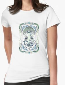 Yggdrasil Womens Fitted T-Shirt