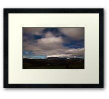 Mt Roland by Moonlight Framed Print