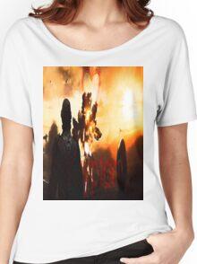 Superman Art #1 Women's Relaxed Fit T-Shirt
