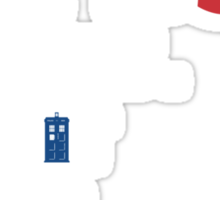 cool story, moffat. tell it again. /on dark colours/ Sticker