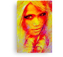 Face 28 Canvas Print