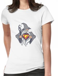 Super Gandalf Womens Fitted T-Shirt