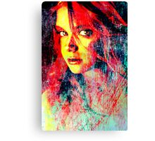 Face 29 Canvas Print