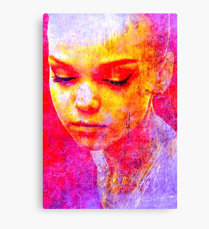 Face 30 Canvas Print